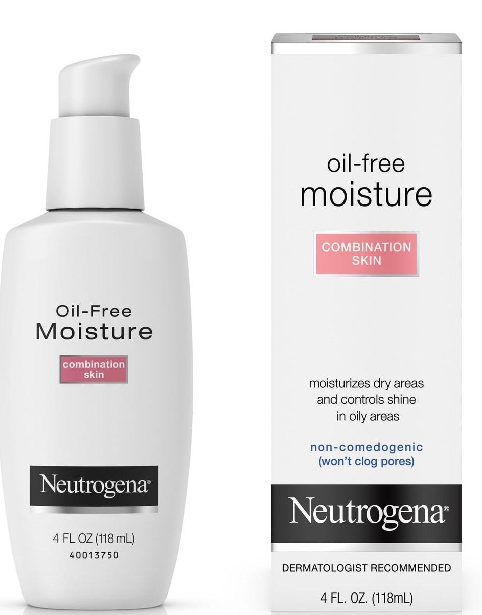 Neutrogena Oil-Free Moisture Ultra-Gentle Facial Moisturizer