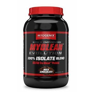 Myogenix Myolean Evolution Isolate Powder, Milk Chocolate, 2.57 Pound