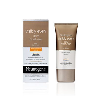 Neutrogena® Visibly Even® Daily Moisturizer with Sunscreen Broad Spectrum SPF 30