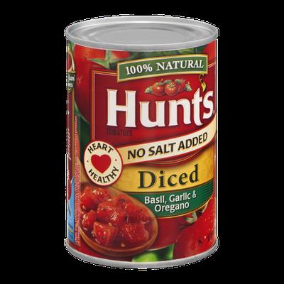 Hunt's Tomatoes Diced Basil, Garlic & Oregano