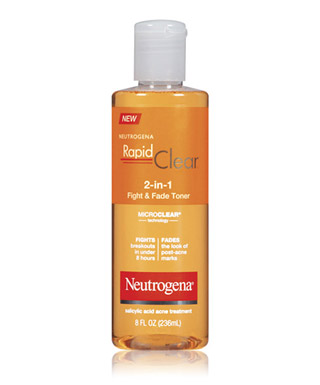 Neutrogena Rapid Clear 2-in-1 Fight & Fade Toner