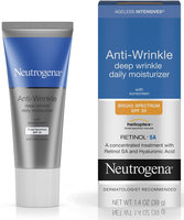 Neutrogena® Ageless Intensives® Anti-Wrinkle Deep Wrinkle Daily Moisturizer Broad Spectrum SPF 20