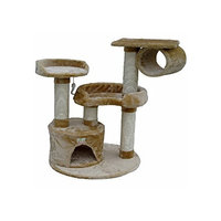 Go Pet Club 39-Inch Cat Tree, Beige