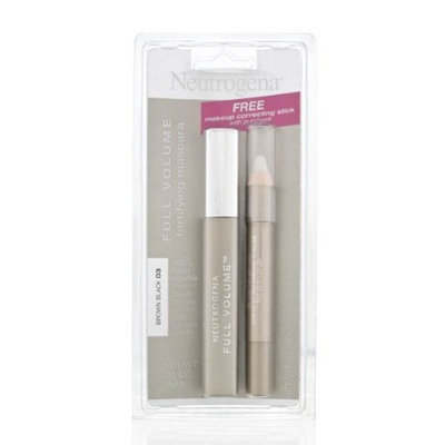 Neutrogena® Full Volume Fortifying Mascara + Makeup Correcting Stick