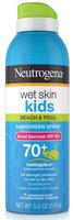 Neutrogena® Wet Skin Kids Sunscreen Spray Broad Spectrum SPF 70+