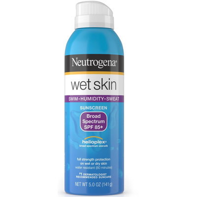 Neutrogena® Wet Skin Sunscreen Spray Broad Spectrum SPF 85+