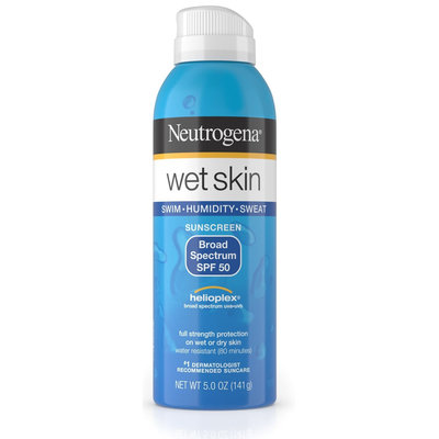 Neutrogena® Wet Skin Sunscreen Spray Broad Spectrum SPF 50