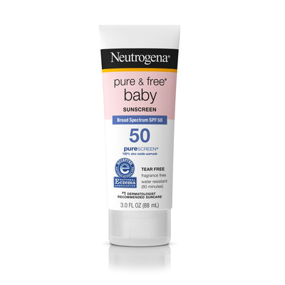 Neutrogena® Pure & Free® Baby Sunscreen Lotion Broad Spectrum SPF 50