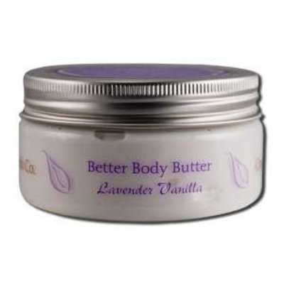 Organic Bath Co. Body Butters Lavender Vanilla - 8 oz