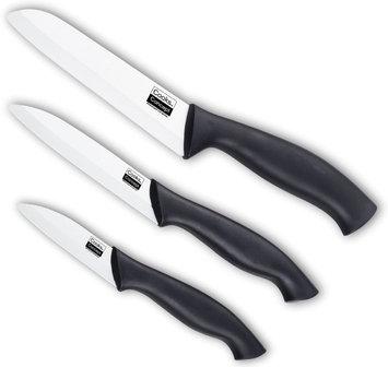 Cook N Home 3 Piece Ceramic Knife Set