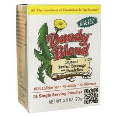 Goosefoot Acres Dandy Blend Instant Herbal Beverage with Dandelion -- 25 Pouches