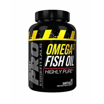 Con-Cret Pro Essentials Omega-3 Fish Oil, 60 Count