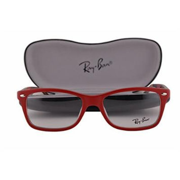 Ray Ban RX5228 Eyeglasses 53-17-140 Top Matte Red On Texture Camouflage 5406 RB5228