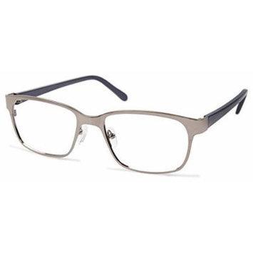 Cynthia Rowley No. 31 Gunmetal Rectangle Metal Eyeglasses