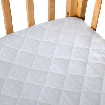 Be Basic Quilted 100% Cotton Waterproof Portable Crib Pad by bb Basics