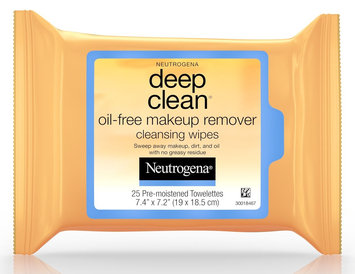 Neutrogena® Deep Clean® Oil-Free Makeup Remover Cleansing Wipes