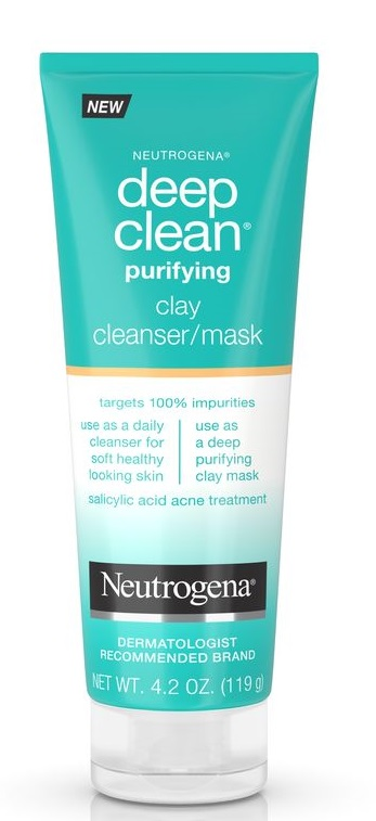Neutrogena® Deep Clean® Purifying Clay Cleanser & Mask