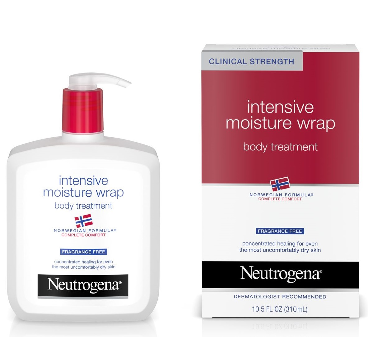Neutrogena® Norwegian Formula® Intensive Moisture Wrap Body Treatment