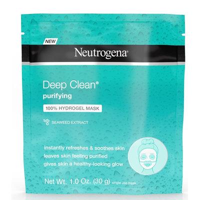 Neutrogena® Deep Clean® Purifying 100% Hydrogel Mask