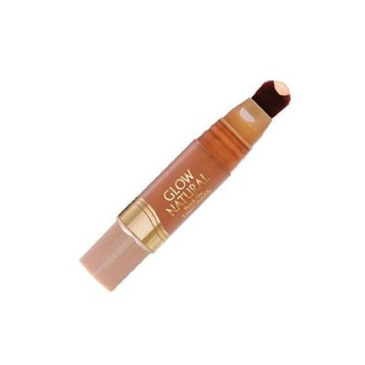 Milani Glow Natural Brush-On Liquid Make Up, Tan to Dark 04, 0.4 fl oz (12 ml)
