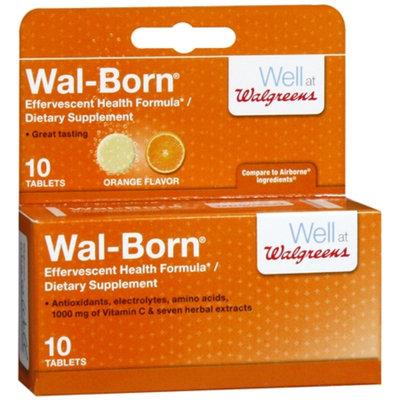 Walgreens Wal-Born Effervescent Dietary Supplement Tablets