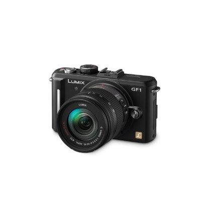 Panasonic Lumix DMC-GF1 Digital Camera with 14-45mm Lens - Black