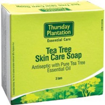 Nature's Plus Thursday Plantation Tea Tree Soap -- 4.4 oz Each / 3 Bars