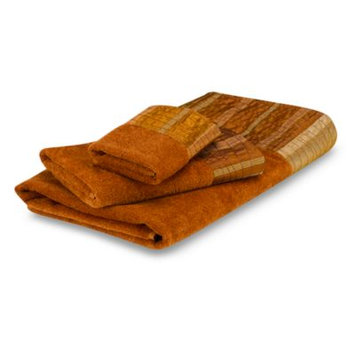 Avanti Sierra Fingertip Towel in Copper