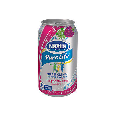 Nestlé Pure Life Sparkling Water Raspberry Lime