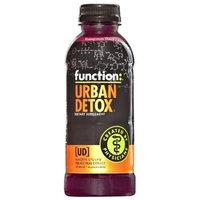 Function Drinks Function Urban Detox Pomegranate Cherry, 16.9-Ounce Bottles (Pack of 12)