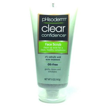 Phisoderm Clear Confidence Face Scrub 5 Oz. Oil Free