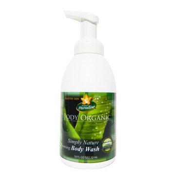Body Wash Organic Unscented Simply Nature By Nature's Paradise