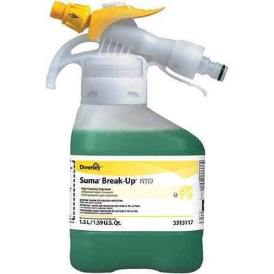 Break Up BREAK-UP 93313117 Degreaser,1.5L,Odorless, PK2