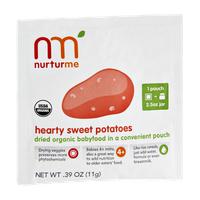 Nurturme Hearty Sweet Potatoes Dried Organic Babyfood Pouch
