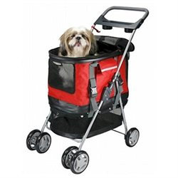 PetZip Deluxe 3 in 1 Pet Carrier and Stroller