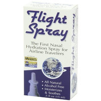 Bioponic Phytoceuticals Flight Spray Nasal Hydration Spray for Airline Travelers - 0.5 Ounce Bottles(Boxed)