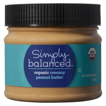 Simply Balanced Organic Creamy Peanut Butter 16 oz