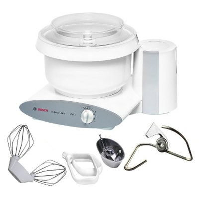 Bosch Universal Plus Mixer with Cookie Paddles - White