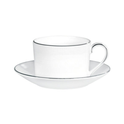 Vera Wang Wedgwood Dinnerware, Blanc sur Blanc Teacup