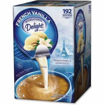 Int'l Delight French Vanilla Creamer Singles -ITD100708