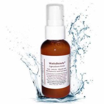 Watts Beauty Signature Acne 50% Hyaluronic Acid Face Serum, 2 oz
