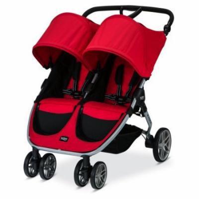Britax 2016 B-Agile Double Stroller, Red