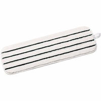 3M 18-Inch Washable Microfiber Easy Scrub Flat Mop, 10 count