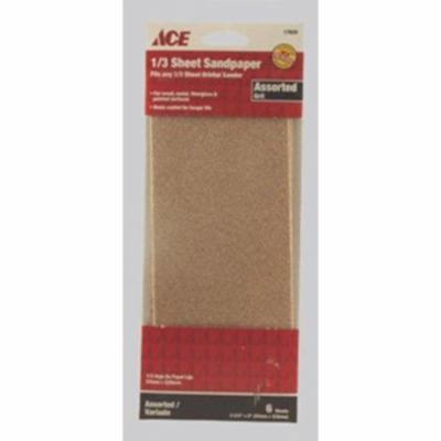 Sandpaper Ast3-2 / 3X9Pk6 Ace Paint Sundries 17620 082901176206