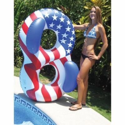 Swimline 90413 Americana Double Ring Lounger 11.75