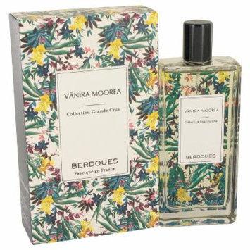 Vanira Moorea Grands Crus for Women by Berdoues Eau De Parfum Spray (Unisex) 3.4 oz