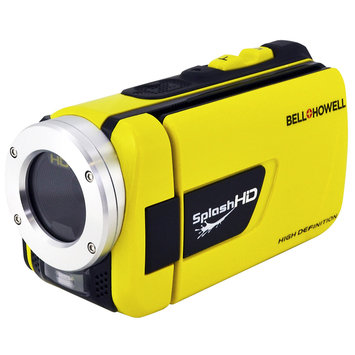 Elite Brands Inc. Bell & Howell Wv30hdy Yellow Hd Camcorder Waterproof
