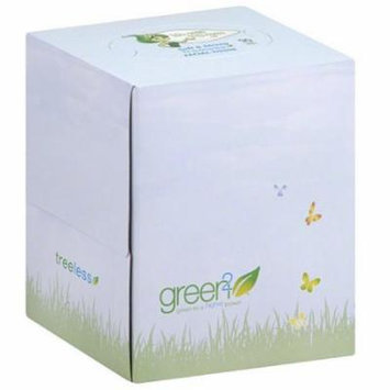 Green2 Ultra Soft & Strong Facial Tissues, 90 sheets, (Pack of 30)