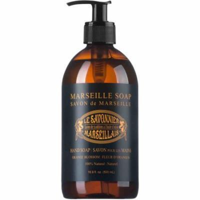 Le Savonnier Marseillais Orange Blossom Liquid Hand Soap, 16.9 fl oz