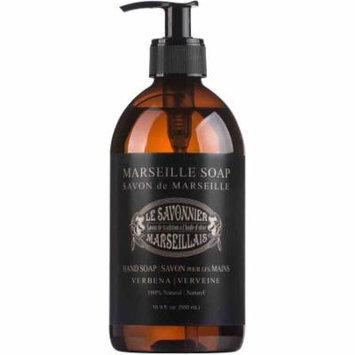 Le Savonnier Marseillais Verbena Liquid Hand Soap, 16.9 fl oz